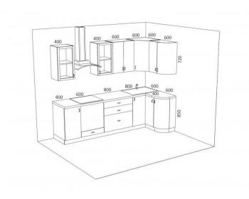 Кухонный гарнитур Мишель-3