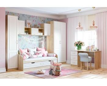 Гарнитур для детской комнаты Оливия New К-01