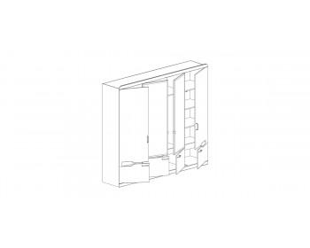 Распашной шкаф РОНДА 321