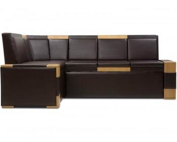 Кухонный диван Квадро Браун угловой