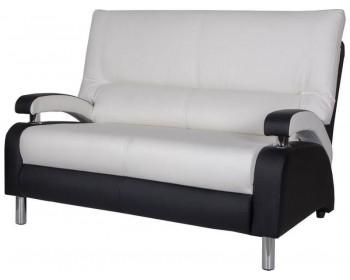 Кожаный диван Вега двухместный