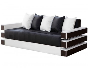 Прямой диван Венеция Блэк