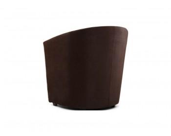 Офисное кресло Лацио Клипс Шоколад Лайн