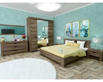 Спальный гарнитур в цвете Ясень Таормино