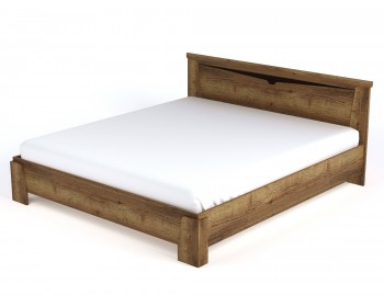 Кровать Гарда в цвете Дуб Галифакс табак