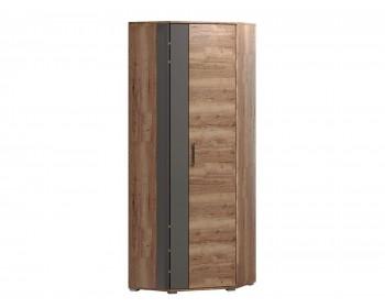 Угловой шкаф Ханна в цвете Дуб Галифакс табак