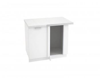 Угловой шкаф Валерия М Цвет каркаса Белый