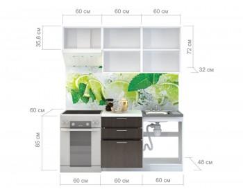 Кухонный гарнитур Валерия М Цвет каркаса Белый