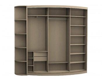 Радиусный шкаф Верона-4