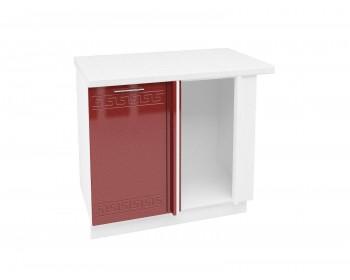 Угловой шкаф Греция в цвете каркаса Белый