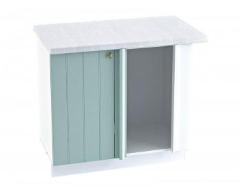 Угловой шкаф Прованс в цвете Голубой