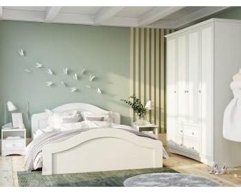 Спальный гарнитур Прованс в цвете Белый