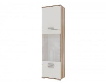 Распашной шкаф Лейла в цвете Белый глянец