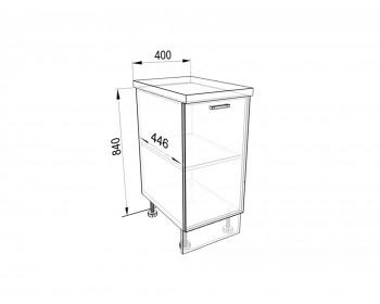Кухонный гарнитур Тумба напольная 40 Люкс