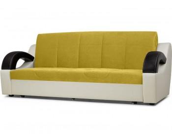 Кожаный диван Мадрид Плюш Мастард