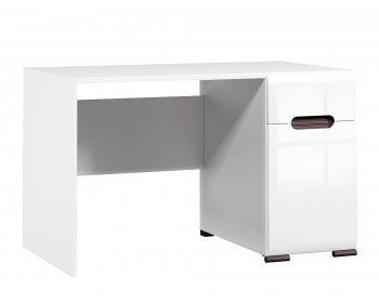 Компьютерный стол Ацтека Белый Блеск