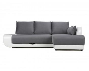 Угловой диван с независимым пружинным блоком Поло LUX НПБ