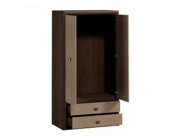 Распашной шкаф Штрокс темный