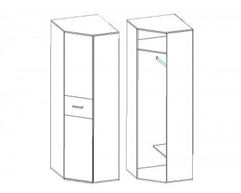 Угловой шкаф Техно в цвете Сосна карелия