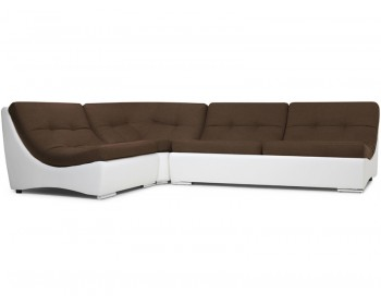 Кожаный диван Монреаль-2 Кантри Браун