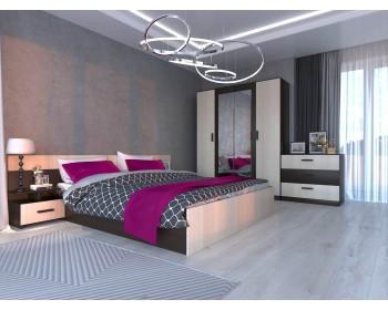 Спальный гарнитур Виктория в цвете Венге