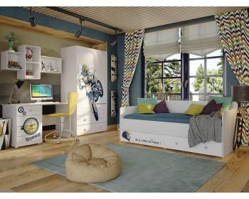Гарнитур для детской комнаты Модерн Квадро