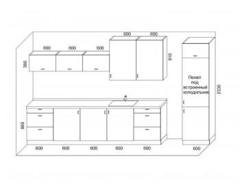 Кухонный гарнитур Микс-9