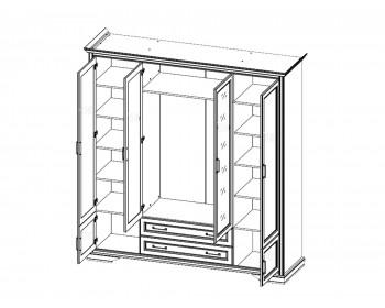 Распашной шкаф Stylius