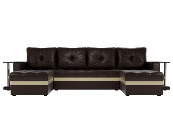 Кожаный диван Атланта-ПК
