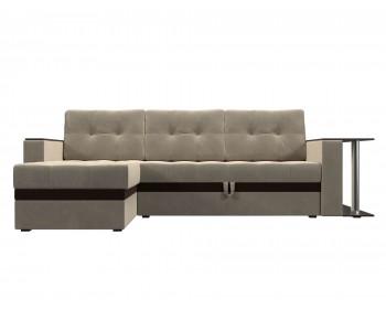 Угловой диван Атланта М (микровельвет)
