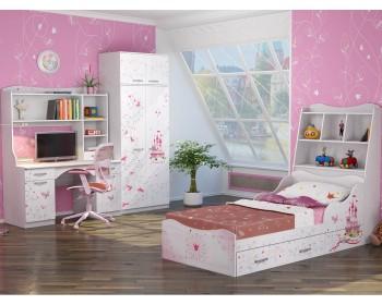 Гарнитур для детской комнаты Принцесса