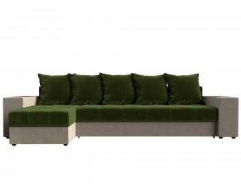 Кожаный диван Угловой Дубай Левый