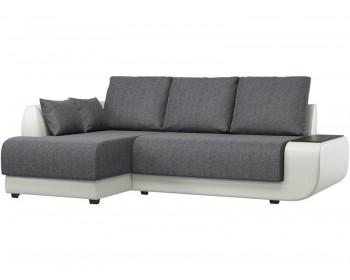 Кожаный диван Нью-Йорк Кантри Грей