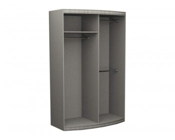 Радиусный шкаф Радуга-600 выпуклый