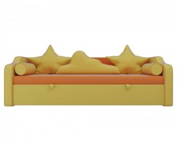 Кожаный диван Детский -кровать Рико