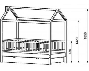 Кровать детская Домик-1