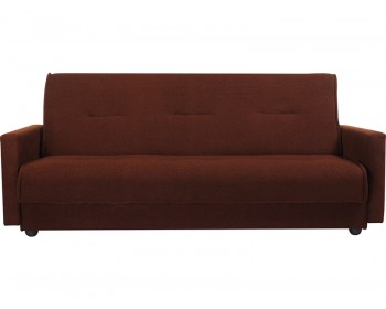 Прямой диван Милан Браун-140