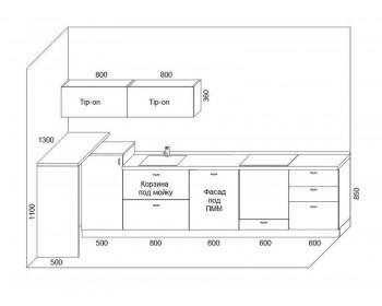 Кухонный гарнитур Микс-11