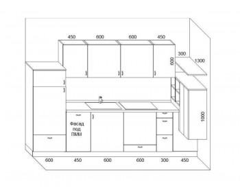 Кухонный гарнитур Микс-10