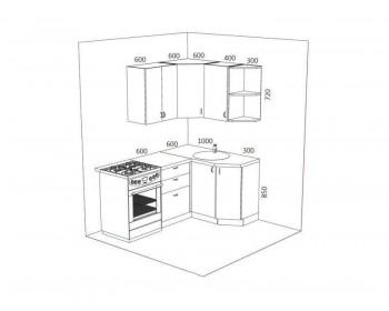 Кухонный гарнитур Стелла-10