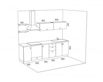 Кухонный гарнитур Стелла-11