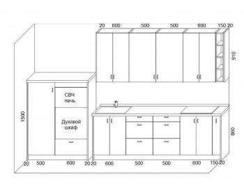 Кухонный гарнитур Лайф-8