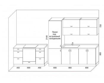 Кухонный гарнитур Лайф-10