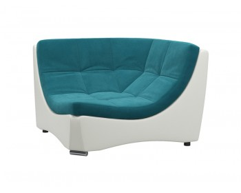 Угловое кресло Монреаль Плюш Мурена