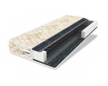 Кровать Мягкая Селеста 1200 беж с ортопед.основанием с матрасом