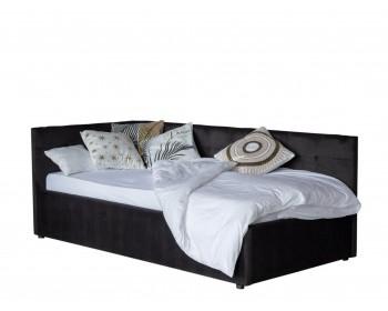Кровать Односпальная -тахта Bonna 900 темная с подъемным механизм