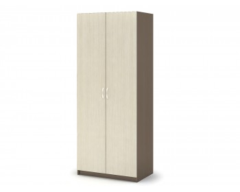 Распашной шкаф Бася в цвете Шимо темный