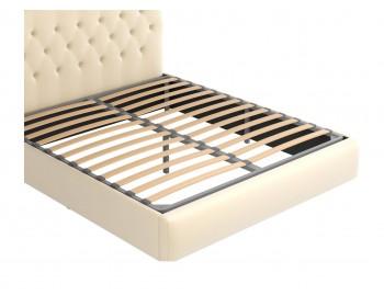 """Мягкая двуспальная кровать """"Амели"""" 1800 с ортопедическим"""