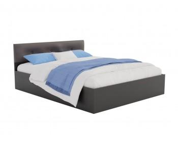 Кровать Виктория ЭКО-П 180 (Венге/Венге) темная с матрасом ГОСТ