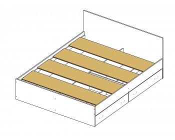 Кровать Доминика с блоком и ящиками 180 (Венге) с матрасом АСТРА